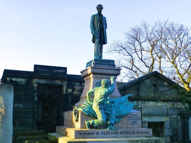 Abraham Lincoln Memorial Edinburgh