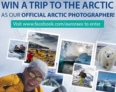 Win an All Expenses Paid Trip from Scotland to the Arctic!