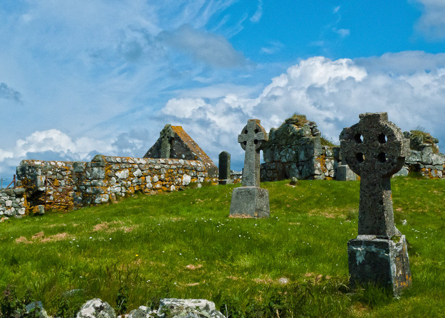 howmore chapel south uist