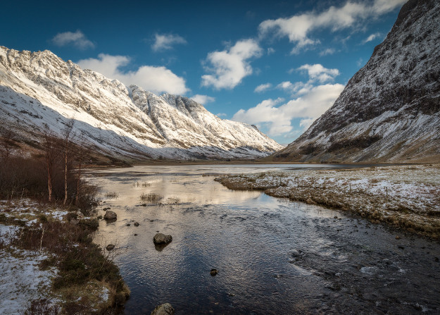 glencoe highlands snow