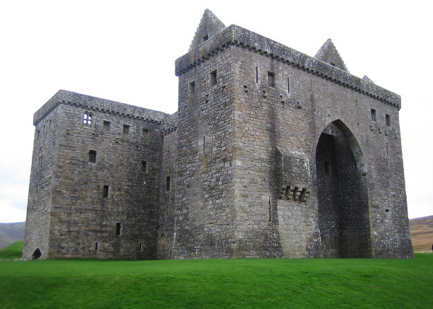 hermitage castle roxburghshire