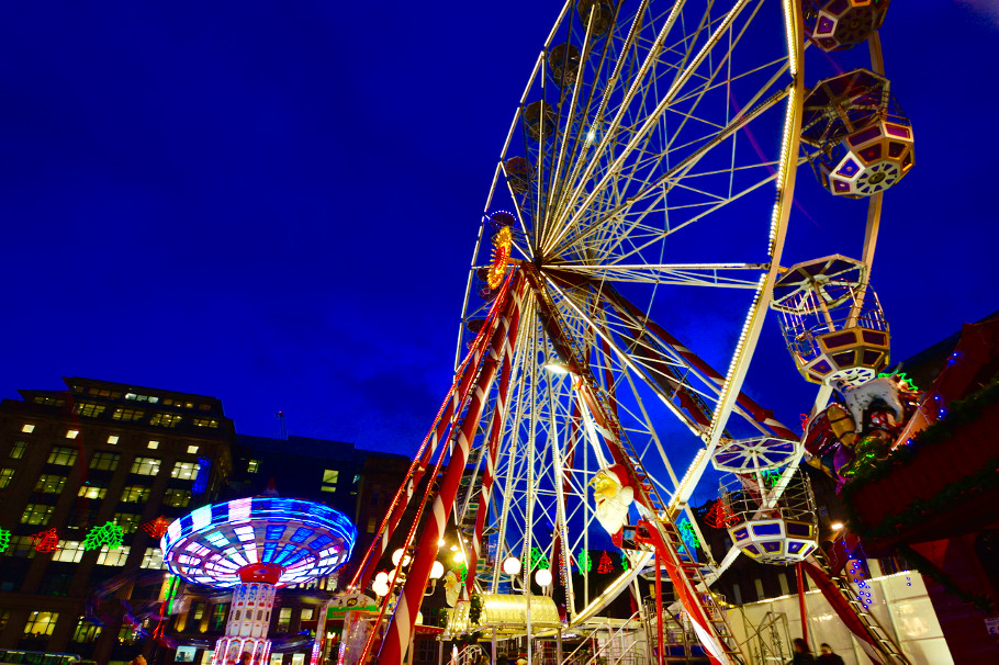 george square christmas big wheel