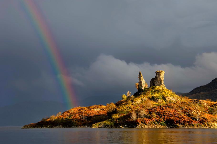 kyleakin castle moil skye