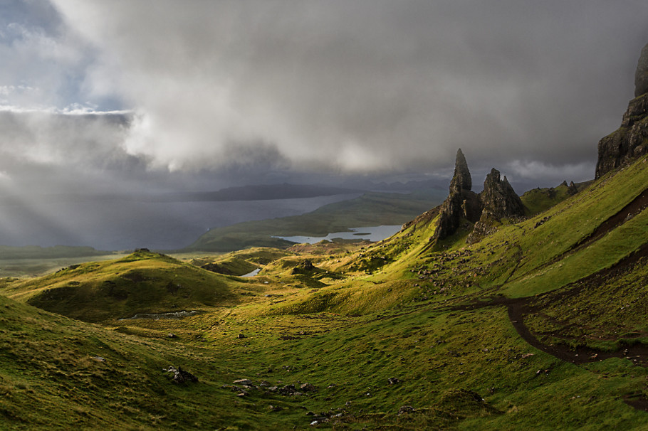 the old man of storr skye